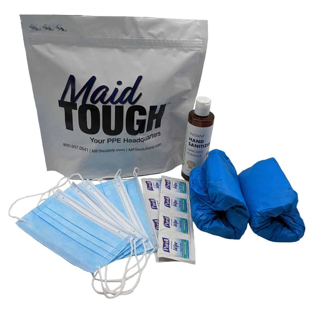MaidTOUGH Real Estate Home Showing PPE Kit