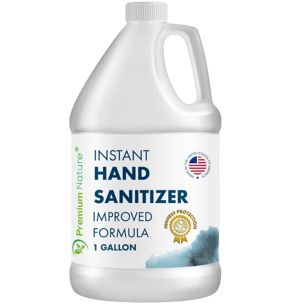 Premium Nature Instant Hand Sanitizer, 1 Gallon