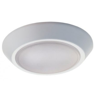 "5.5"" White LED Modern Slim, flush mount ceiling fixture"