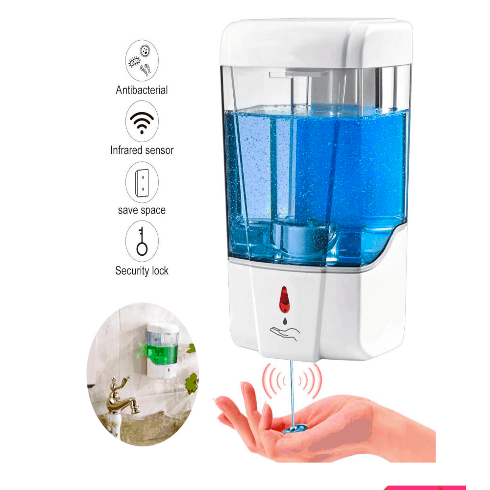 Automatic Wall Mount Hand Sanitizer Dispenser 700ml