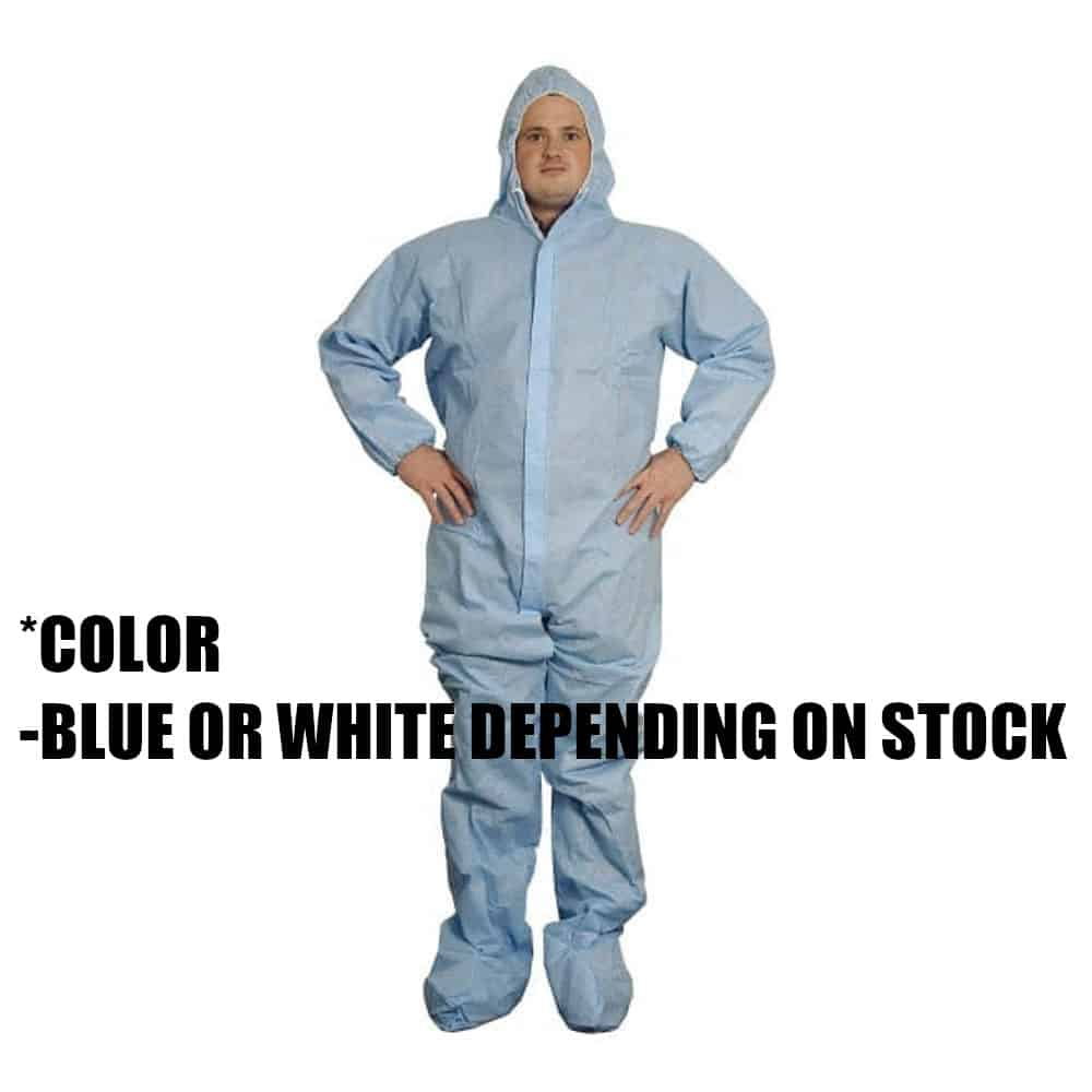 Disposable Protective Coverall, Large