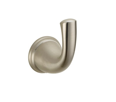 Matching Robe Hook, Brushed Nickel, BL-RHBN