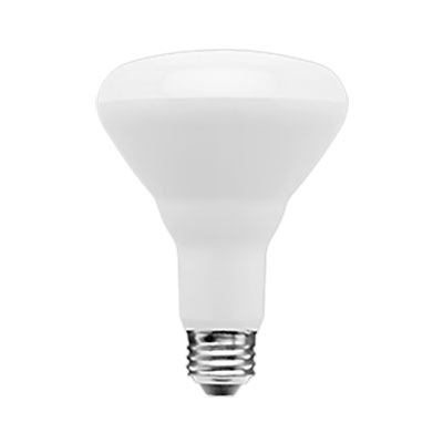 Light Bulb, Indoor LED 10W (60W) Floodlight, Bright White, BR30