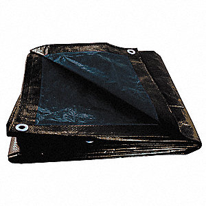 Tarps - Black 10x16  (8-9 Mil Thick)