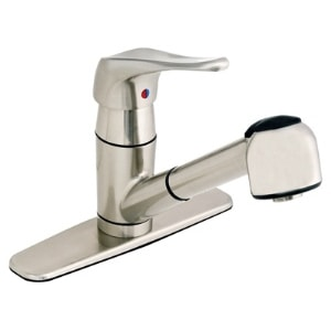 Single Handle Kitchen Pull-Out Faucet, CL-150SS