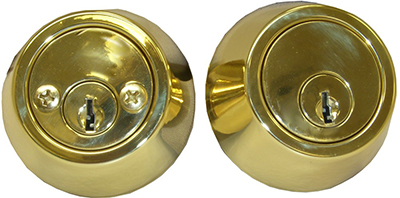 Contractor/REO Grade Deadbolt - Double Cylinder