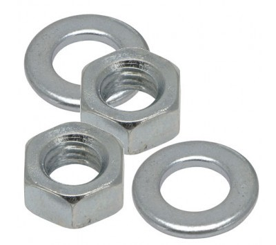 Carriage Bolt Nuts and Washers