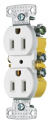 Outlet, Duplex Receptacle 15 Amp