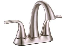 Premier® Creswell™ Two-Handle Centerset Lavatory Faucet With Pop-Up, Brushed Nickel
