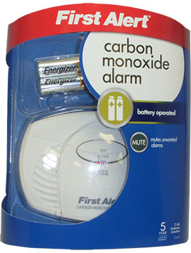 First Alert Carbon Monoxide Alarm, CO400