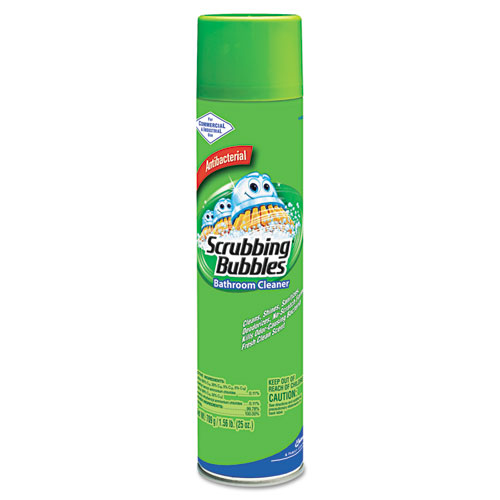 Scrubbing Bubbles Bathroom Cleaner, 25oz Aerosol