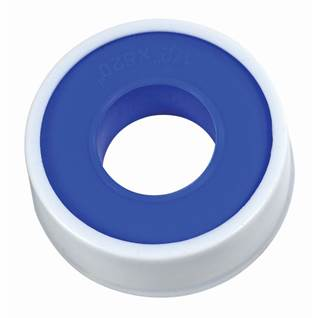 White waterline thread seal tape