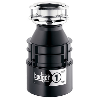 Badger 1 Disposal, 1/3 hp.