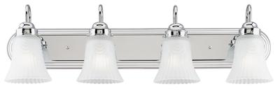 Four-light, Frosted Glass, Vanity Light Fixture, 66523