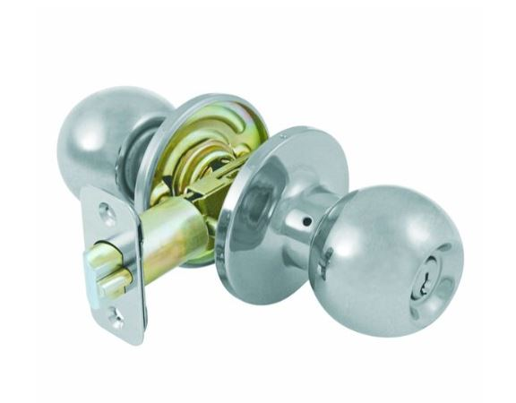 Ultra Ball Knob Entry - Satin Nickel 43370