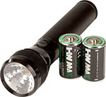 Aluminum Flashlight with Batteries