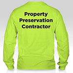 Prop. Pres. T-Shirts, XLG, Long-Sleeve