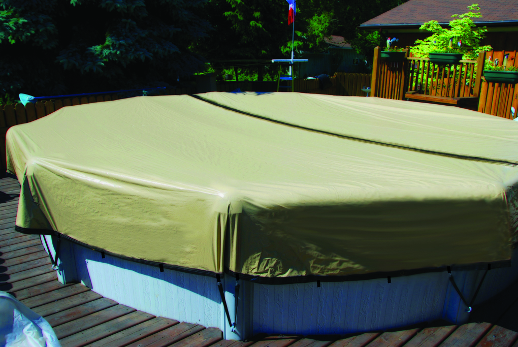 12' Round Ultimate Above Ground Winter Cover (*Free Shipping*)