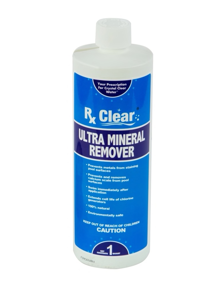 Rx Clear Ultra Mineral Remover - 1 Qt